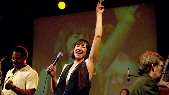 La cantant Susana Sheiman, en un concert / Foto: Susanasheiman.com