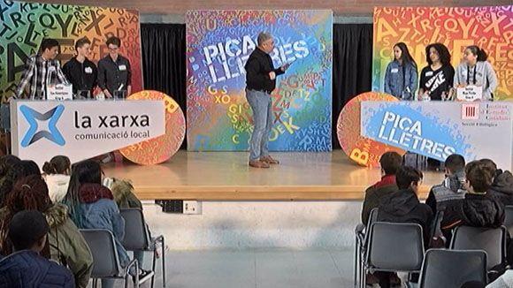 Els instituts Les Aimerigues i Mont Perdut de Terrassa, participants de la setmana a 'Pica Lletres'