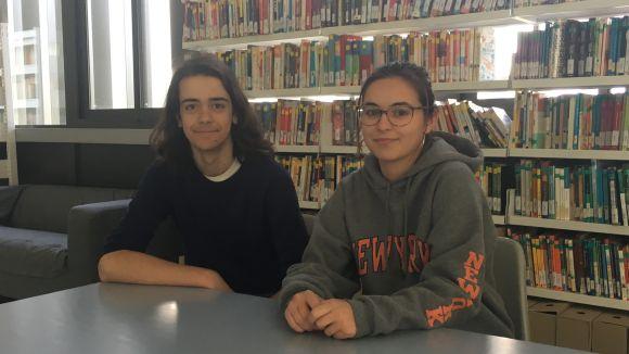 Dos alumnes del Thau, al programa Joves i Ciència de la Fundació Catalunya - La Pedrera