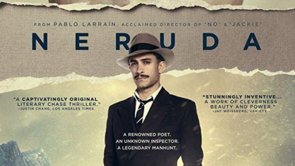 La figura de Pablo Neruda protagonitza aquest dilluns la proposta del cicle de cinema temàtic