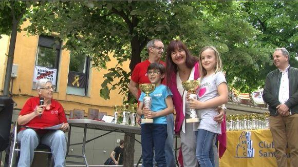 El Club Muntanyenc entrega els premis de la 60a Marxa Infantil de Sant Cugat