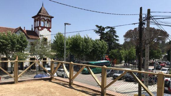 Oberta a la ciutadania la nova plaça-mirador enjardinada de Valldoreix