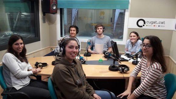D'esquerra a derta, Guiomar Manchó, Maria Lluna Fornells i Anna Garriga