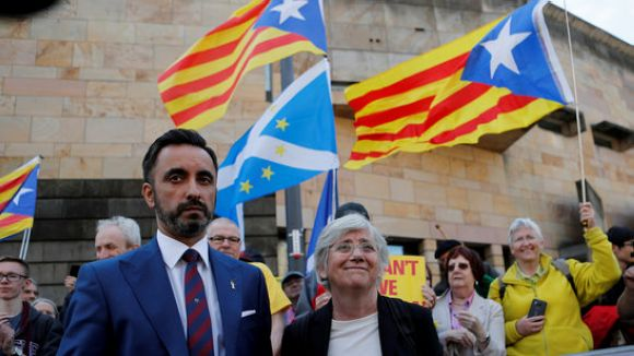 La fiscalia escocesa demana més informació a l'Estat sobre els càrrecs contra Ponsatí