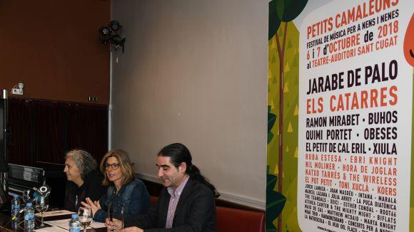 Jarabe de Palo, Els Catarres, Ramon Mirabet, Buhos i Obeses, caps de cartell del 7è Petits Camaleons