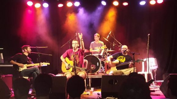 Pubilles Ninja en concert / Foto: Facebook