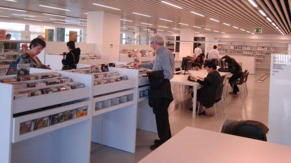 La biblioteca de Mira-sol es consolida com un espai de trobada per al districte