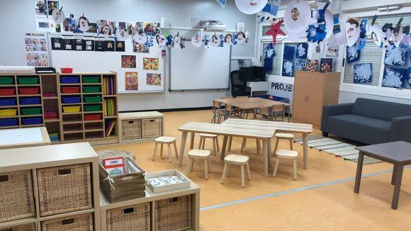 Imatge de les instal·lacions de l'escola La Mirada / Foto: