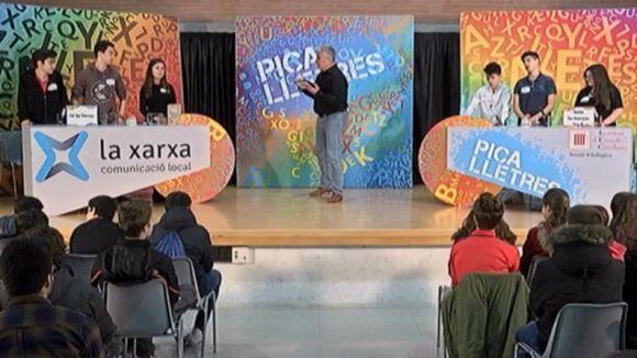 El col·legi Salesians de Sabadell i el grup B de l'institut les Aimerigues de Terrassa, en un nou 'Pica Lletres'
