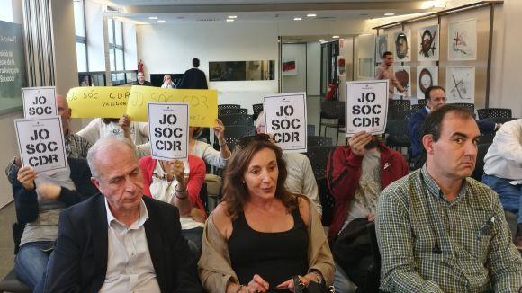 Valldoreix dóna suport als CDR i es declara vila antifeixista