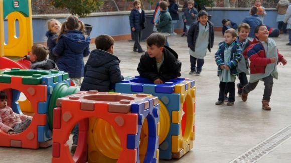 Pati de l'escola Santa Isabel / Foto: escola Santa Isabel