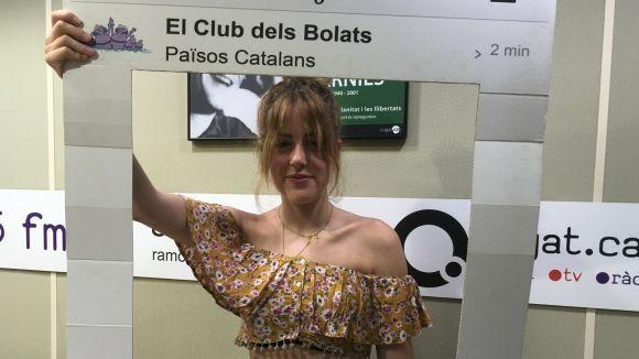 La rubinenca Andrea Mir visita 'El Club dels Bolats'