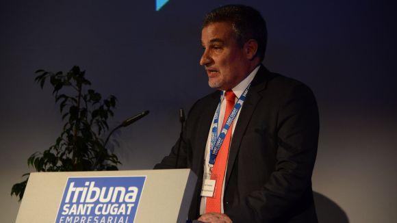 Joan Franquesa repeteix com a president de Sant Cugat Empresarial / Foto: Localpres
