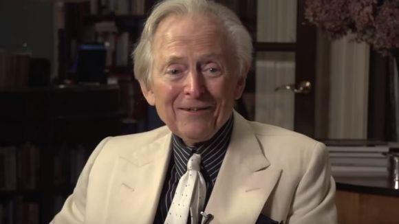 El periodista i escriptor Tom Wolfe /Imatge: YouTube