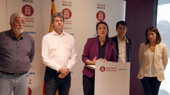 Conesa lamenta la 'situació d'indefensió' de la Diputació de Barcelona davant el macrooperatiu policial
