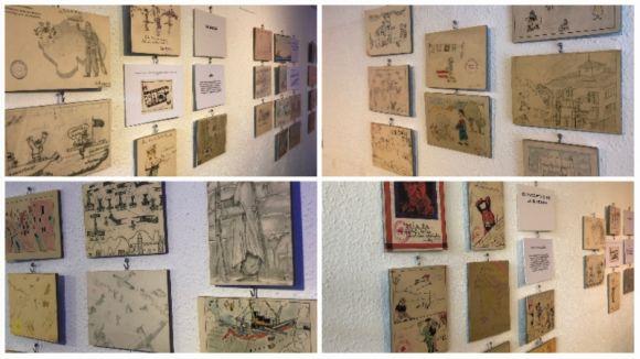 Espai Comú mostra la visió infantil de la Guerra Civil espanyola amb l'exposició 'Dibuixos de la guerra'