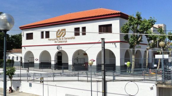 Estació de Sant Quirze / Foto: FGC