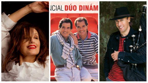 Ramon Mirabet, Luz Casal i el Dúo Dinámico pujaran a l'escenari del Teatre-Auditori aquesta tardor