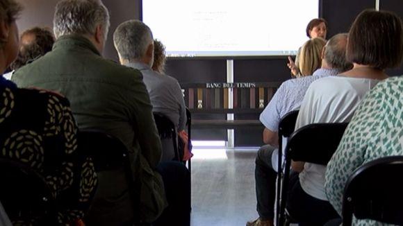 El Banc del Temps organitza diferents conferències i tallers