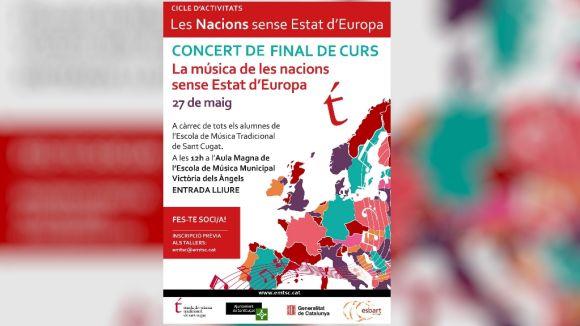 L'EMTSC tanca el cicle 'La música de les nacions sense estat d'Europa' amb un concert