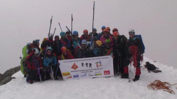 Dos santcugatencs, a la 2a Expedició inclusiva mundial als Alps Escandinaus