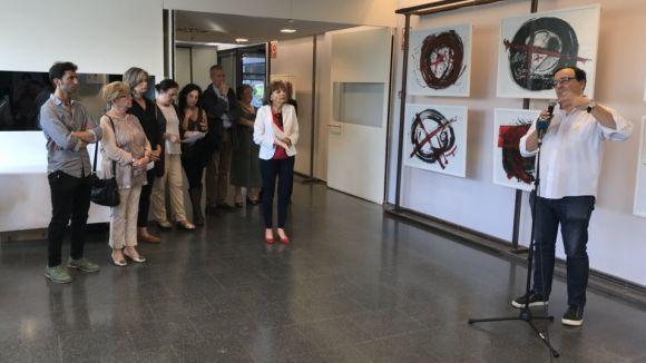 Pintura, poesia i 'performances' s'apoderen de Valldoreix en la seva Nit de l'Art
