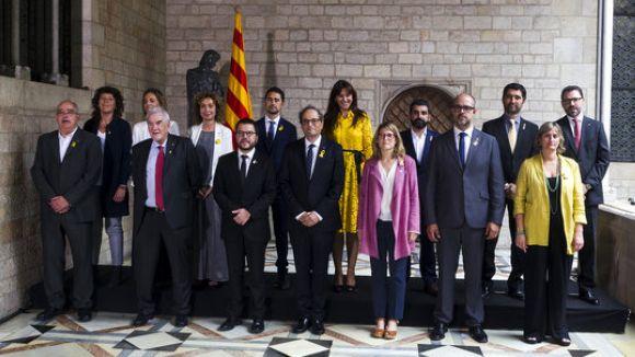 Puigneró i Calvet ja són oficialment consellers del Govern de Catalunya
