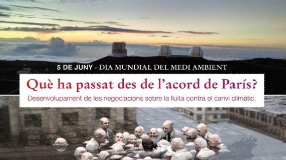 La xerrada coincideix amb el Dia Mundial del Medi Ambient / Foto: Federalistes d'Esquerres