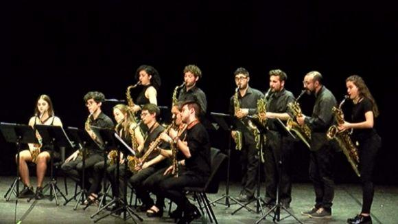 L'Ensemble de Saxòfons del Conservatori del Liceu