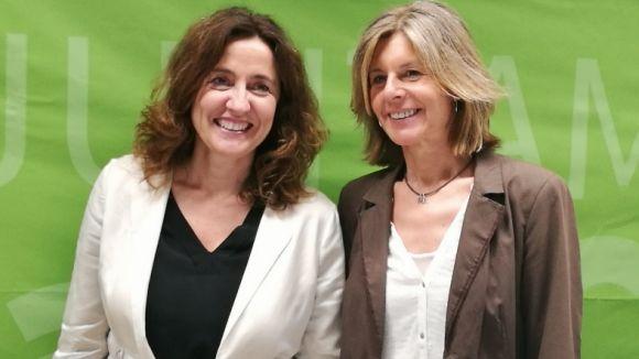 Mercè Conesa i Carmela Fortuny