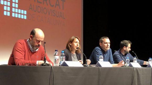 Jordi Basté, Mònica Lablanca, Òscar Fernández i Carles Pérez al MAC