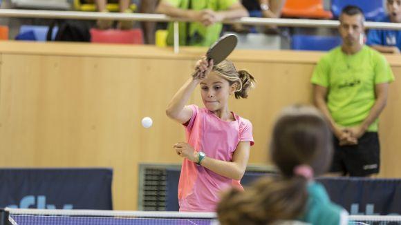 Mariona Munné, segell santcugatenc a l'europeu de tennis taula Euro Mini Champs