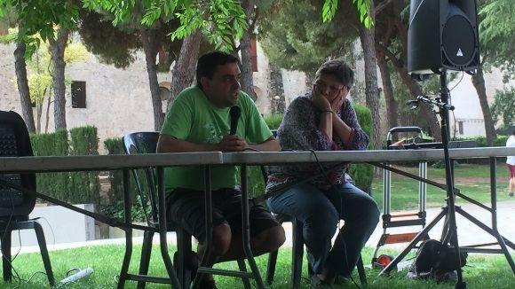 El CDR de Sant Cugat aborda l'estat de la repressió amb diversos activistes