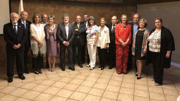 El Rotary distingeix Lluís Ribas i l'Ateneu en la Nit Rotària