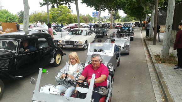 El Ral·li Mas Gener reuneix 53 vehicles clàssics en una edició de rècord