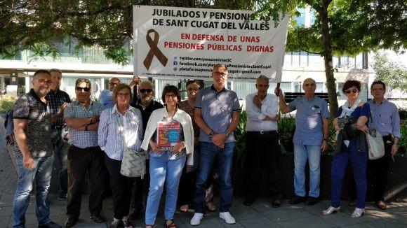 L'oficina va néixer fruit de l'acord entre la Plataforma de Pensionistes i l'Ajuntament / Foto: Cugat Mèdia