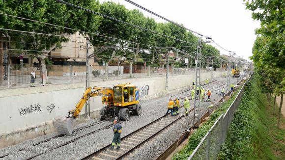 Finalitza la primera fase de treballs dels FGC entre Sant Cugat i Hospital General