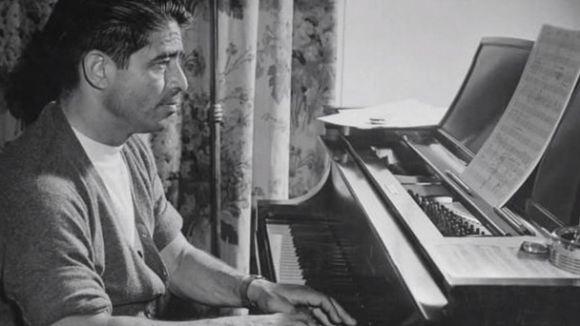 El compositor Alfred Newman