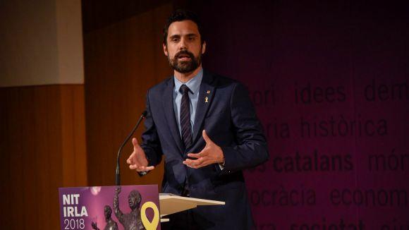Torrent denuncia Llarena per vulnerar els drets polítics dels diputats presos