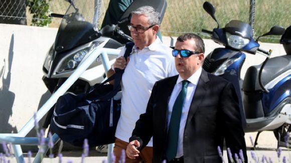 Diego Torres ha entrar aquest dilluns a la presó / Foto: ACN