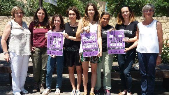 La FMA, la DesPlaça i l'espai Arrel sumen forces contra la violència masclista a la Festa Major