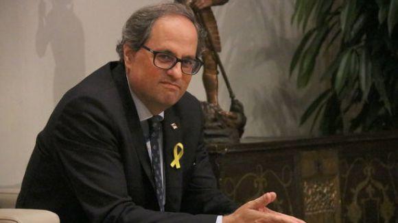 El PP i Cs, sense suports per reprovar les piulades del president Quim Torra