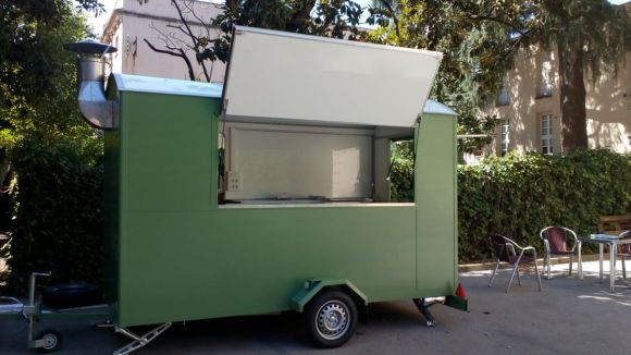 El food truck de l'Ateneu / Foto: Ateneu