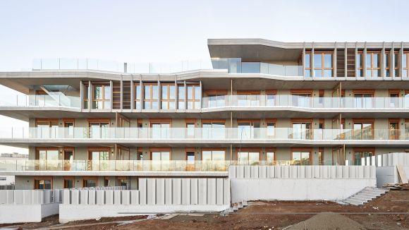 Un edifici de Mira-sol, nominat als premis Catalunya Construcció a la innovació