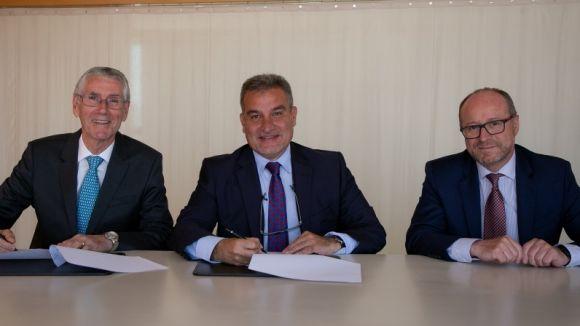 SCE i Banc Sabadell renoven el seu acord de col·laboració per l'organització del Tribuna