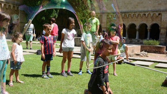 El Claustre serà l'espai estrella de Festa Major per a famílies amb infants de 0 a 3 anys