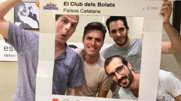 El grup Eivibonny visita 'El Club dels Bolats'