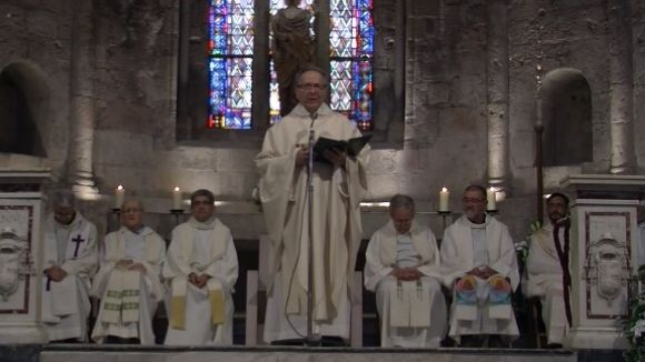 Mossèn Blai tanca l'etapa al capdavant de la parròquia d'Octavià amb una missa al Monestir