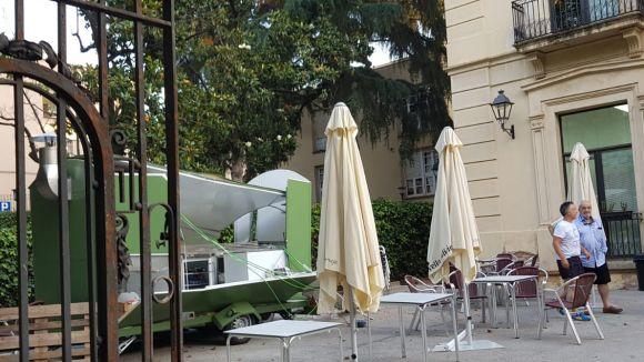 El food truck de l'Ateneu no podrà estrenar-se per Festa Major per una deflagració de gas