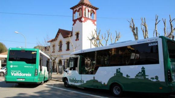 Valldoreix registra un augment del 8,42% de viatgers al servei de transport urbà el 2017